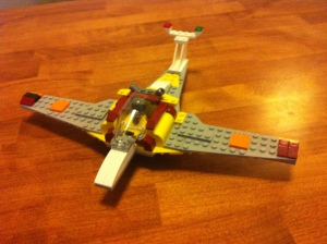 I'm clearly less into good plane design. Photo taken by author