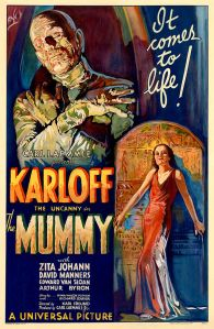 A poster for The Mummy (1932)